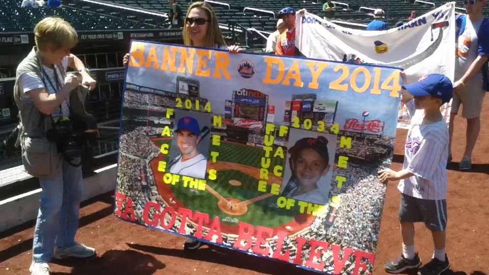 Mets' 2014 Banner Day at Citi