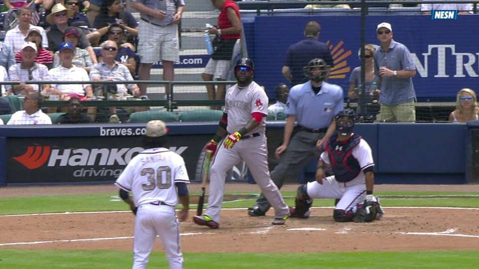 Ortiz's three-run shot