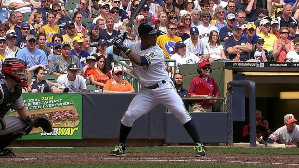 Segura's two-run double
