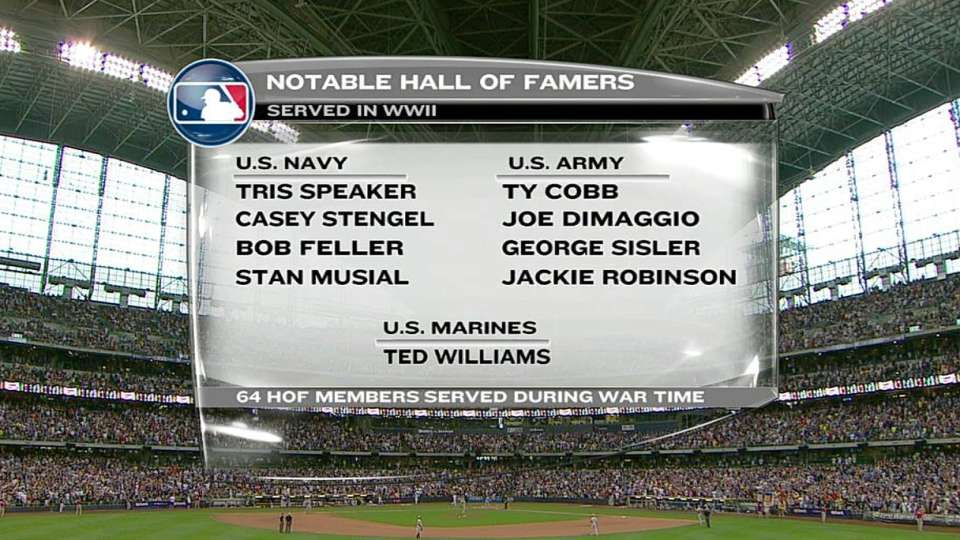 Hall of Famers who served