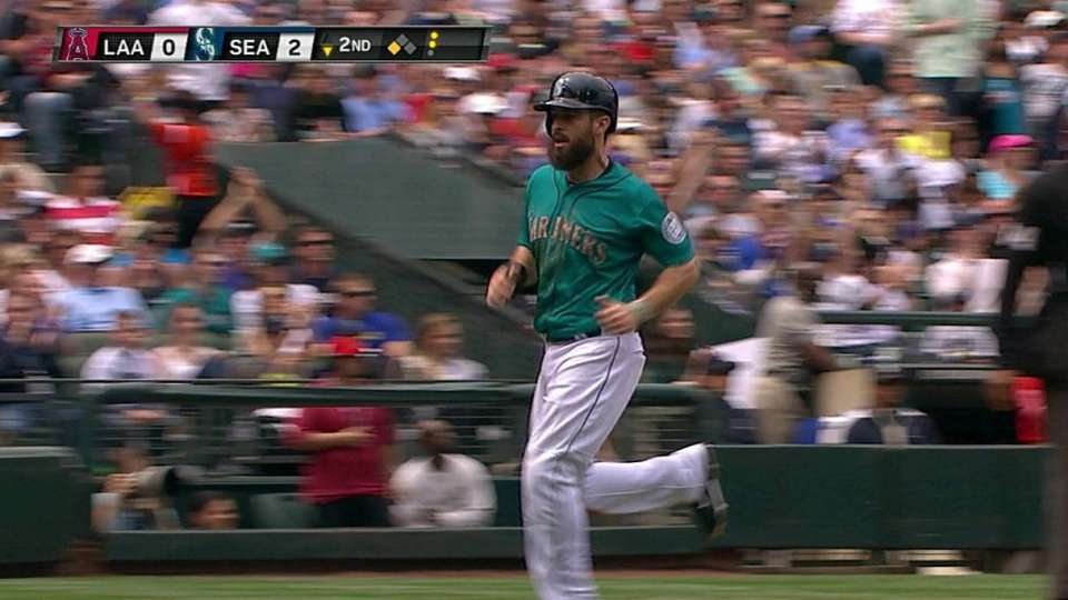 Ackley scores on error