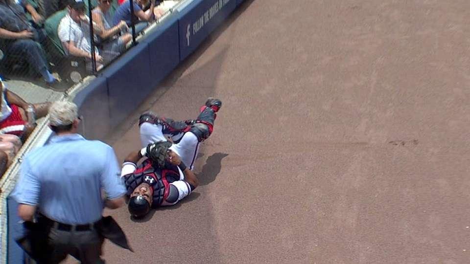 Laird's sliding catch