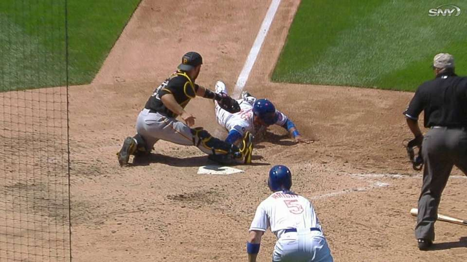 Ump review overturns call in 5th