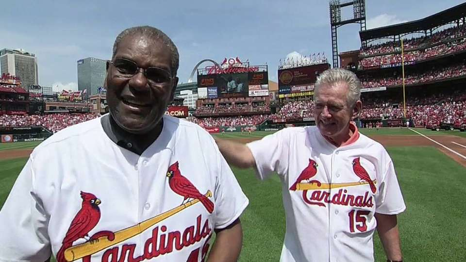Cards honor '64 Series champs