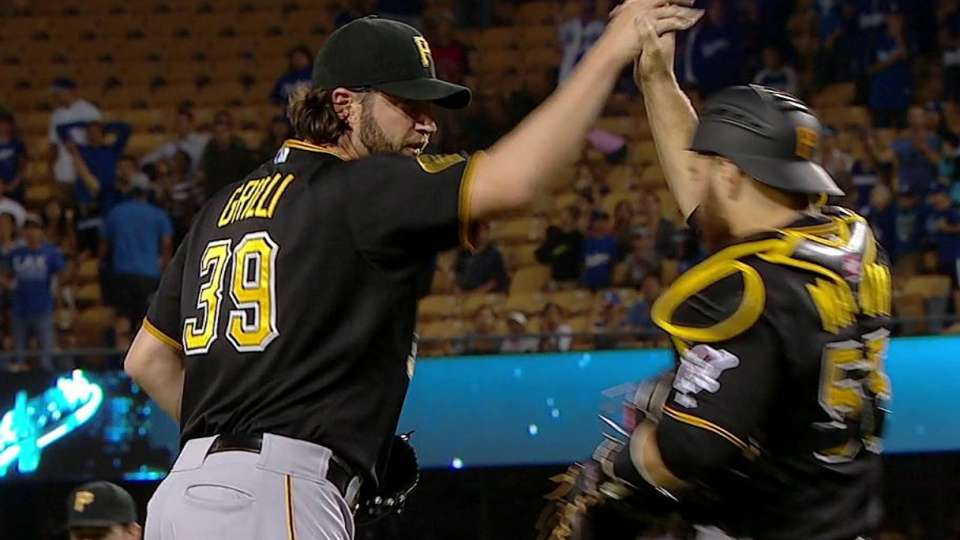 Grilli gets the save