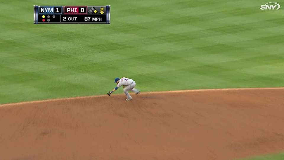 Flores' slick play