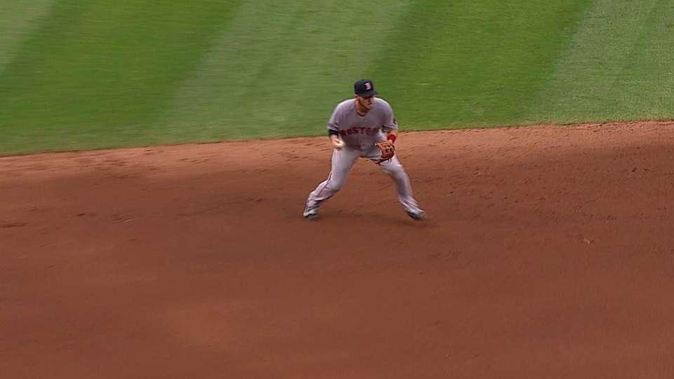 Drew's inning-ending play