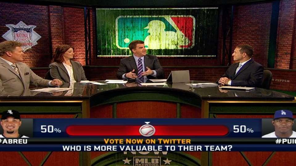 MLB Now: Puig vs Abreu