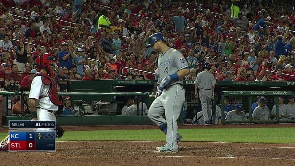 Gordon's solo home run