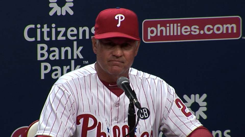 Sandberg on the five-game series