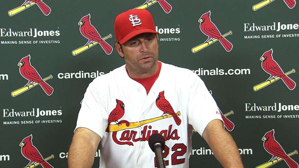Matheny on 6-0 loss to Royals
