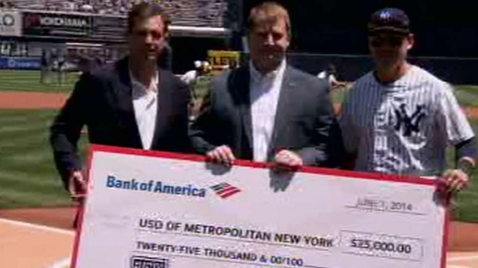 Bank of America gives back