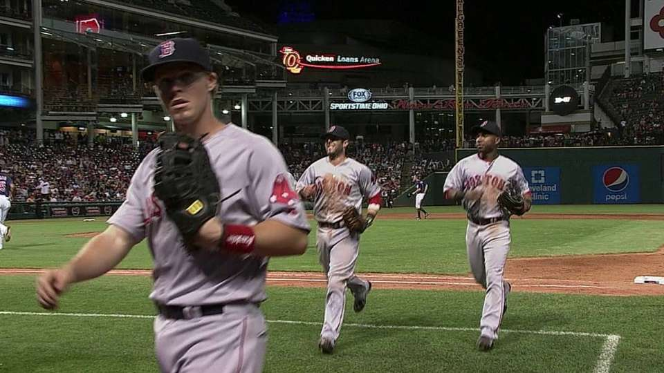 Red Sox turn two