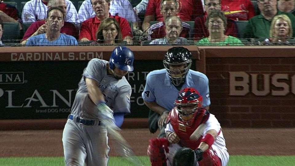 Hosmer's go-ahead base hit