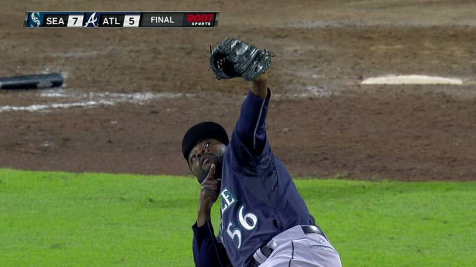 Rodney earns the save