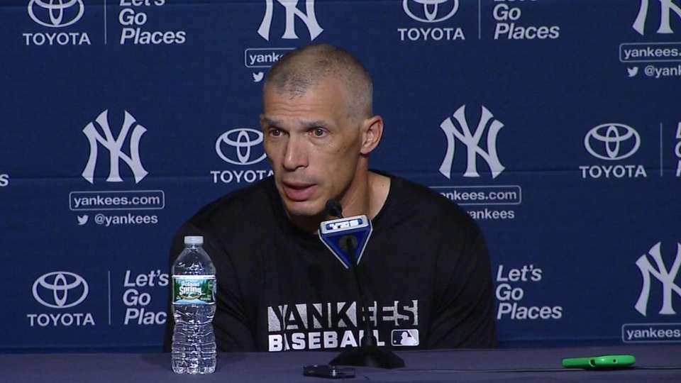 Girardi on Yankees' bullpen