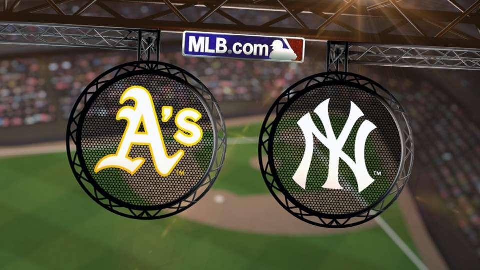 6/3/14: OAK vs. NYY Highlights