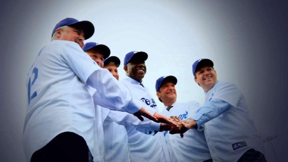 Dodgers celebrate 10,000 wins