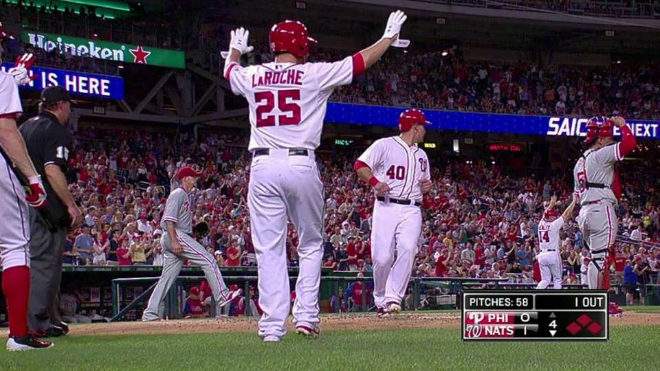 Espinosa's two-run double