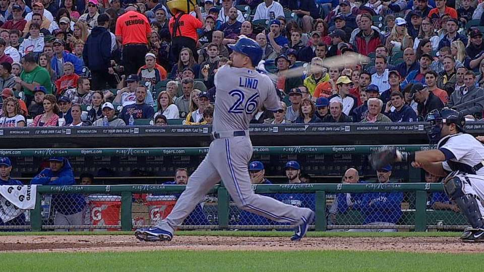 Lind's two-run double