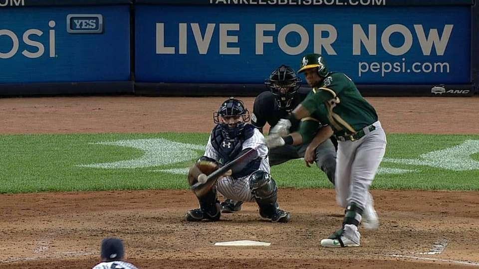 Cespedes' second solo homer