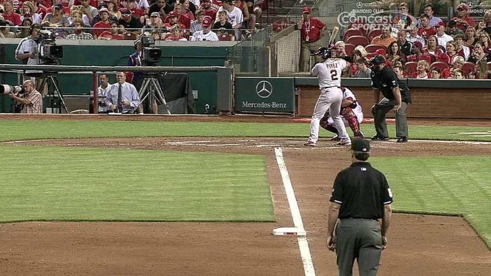 Perez's two-run shot
