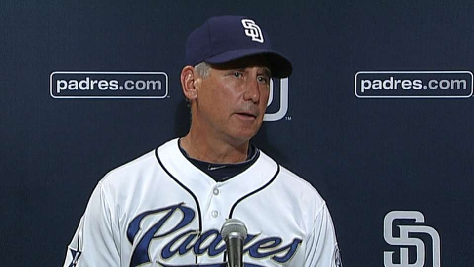 Black on one-hit win for Padres