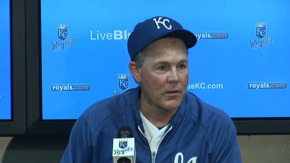 Yost on Royals' late comeback
