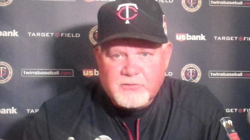 Gardenhire on win over Brewers