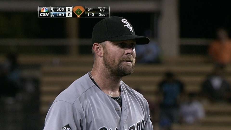 Danks' great outing