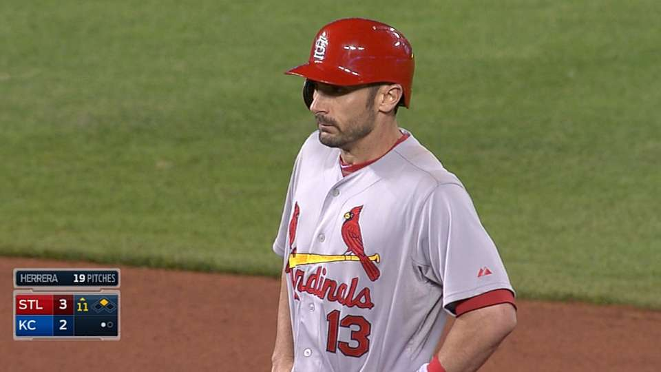 Carpenter charges Cards' offense