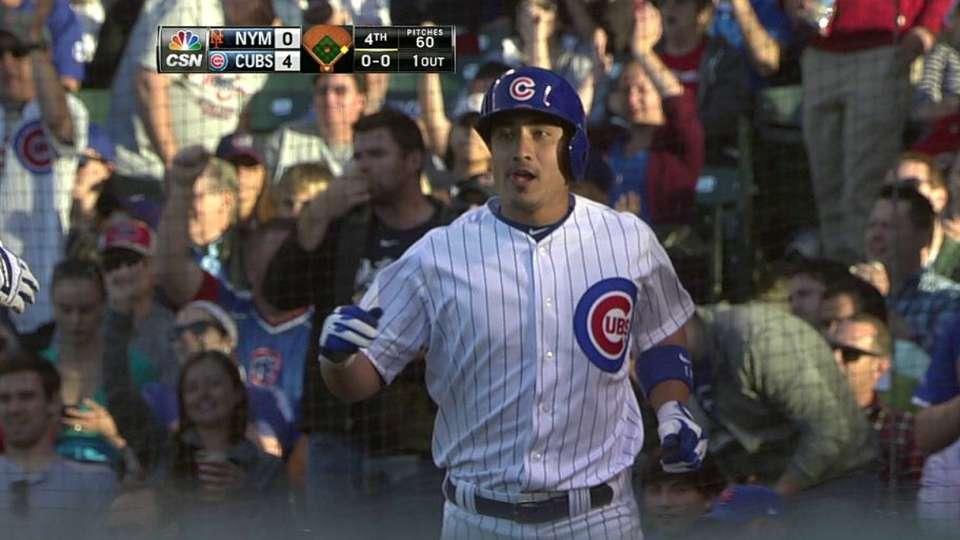 Wood's RBI fielder's choice