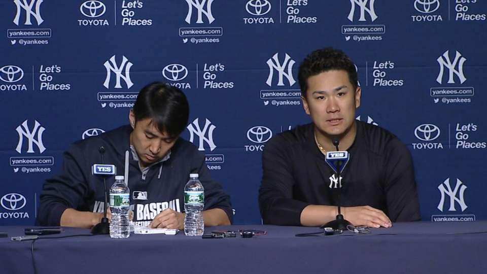Tanaka on win over A's