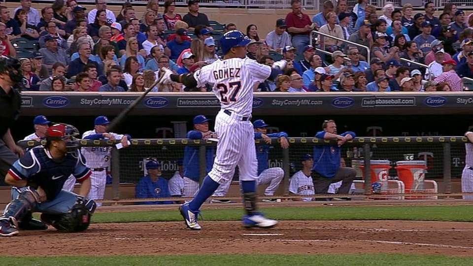 Gomez's three-run homer