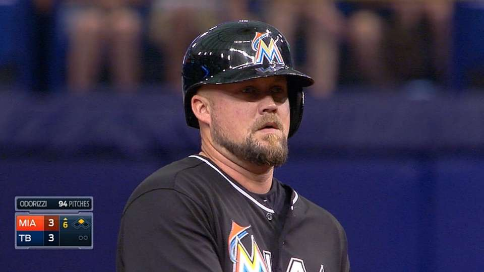 McGehee's four-hit game