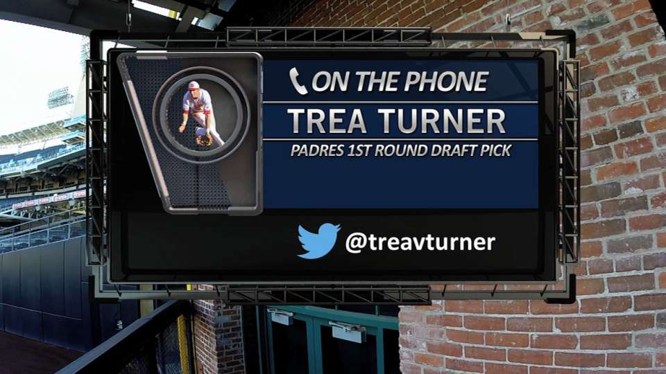 Turner on Padres Social Hour