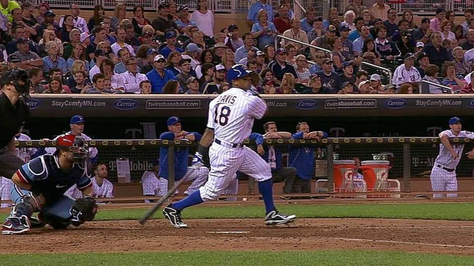 Davis' two-run shot
