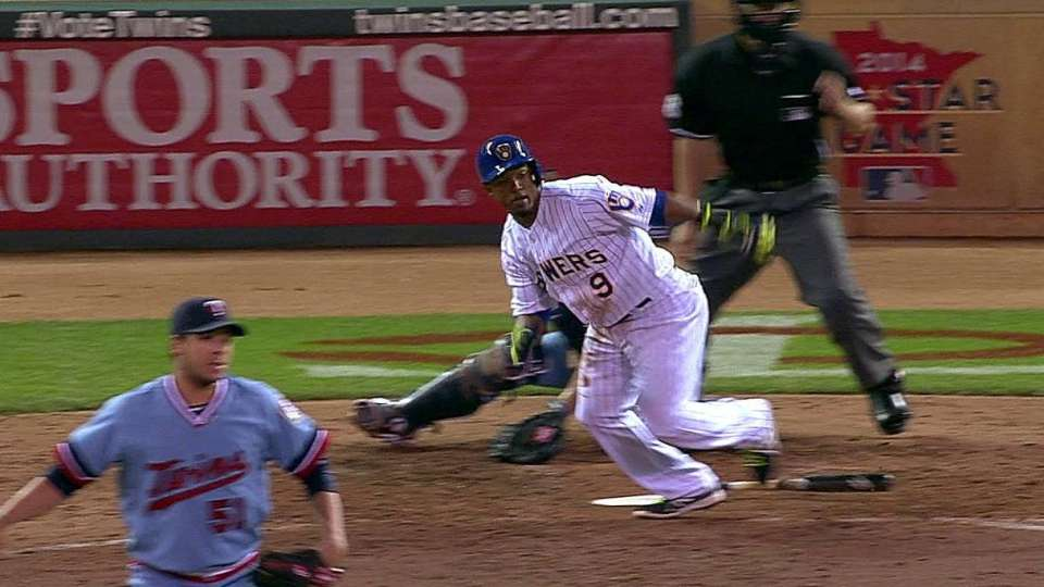 Segura's run-scoring single