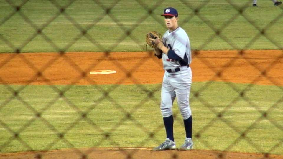 Twins draft RHP Burdi No. 46