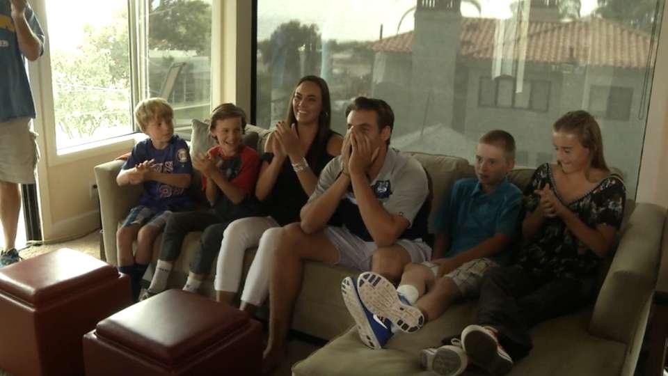 Draftees react to big day
