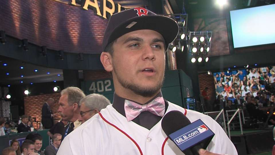 Chavis on selection by Red Sox