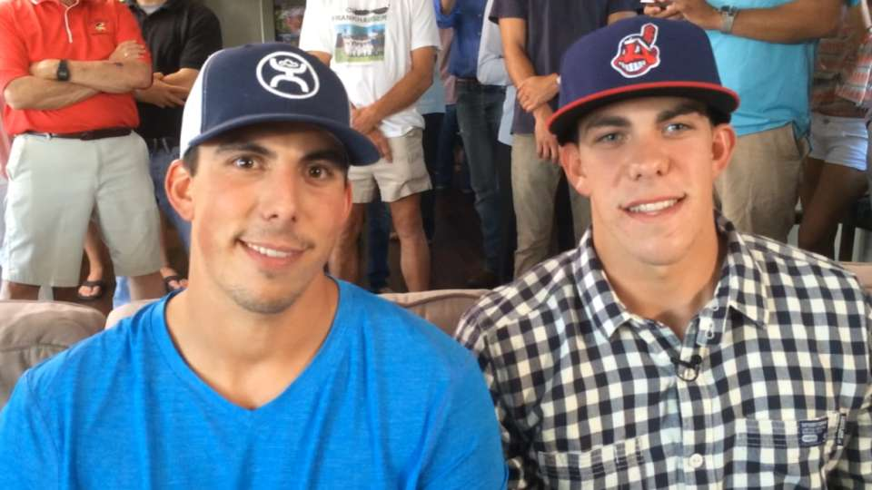 Zimmer brothers on Draft day