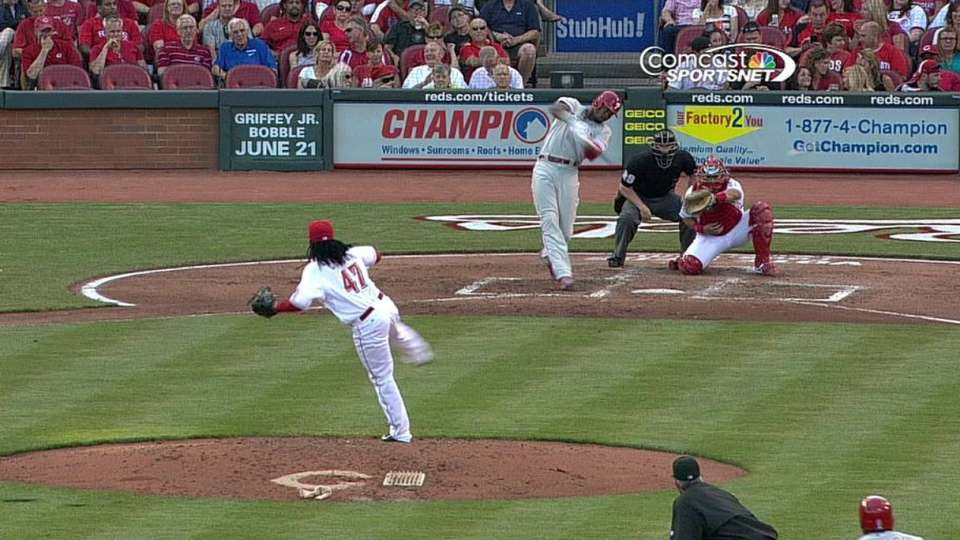 Brown's two-run double