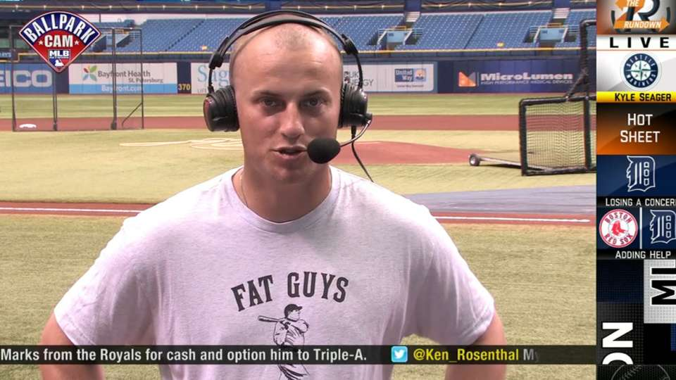 Kyle Seager on The Rundown