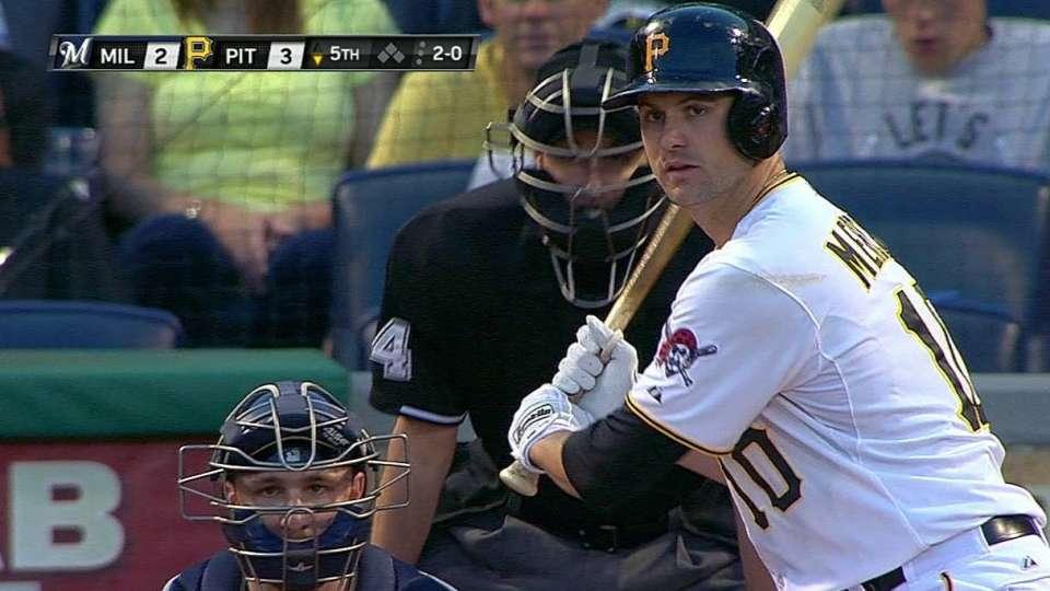 Mercer's solo homer