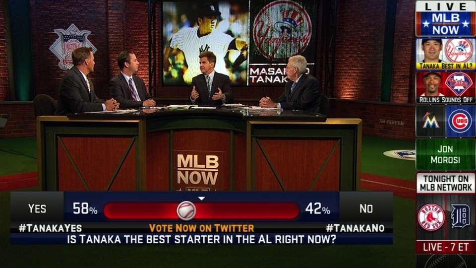 MLB Now on Tanaka and Rollins