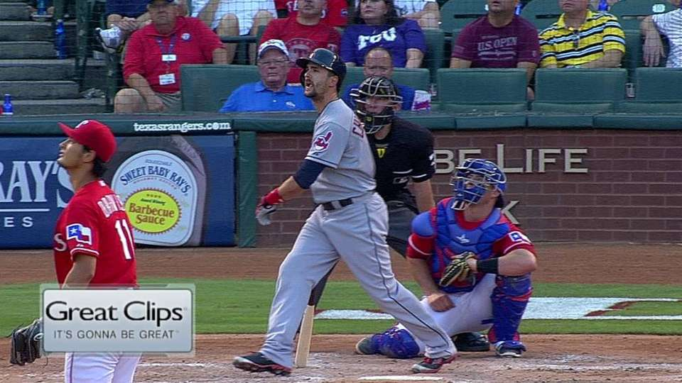 Chisenhall's three-run homer