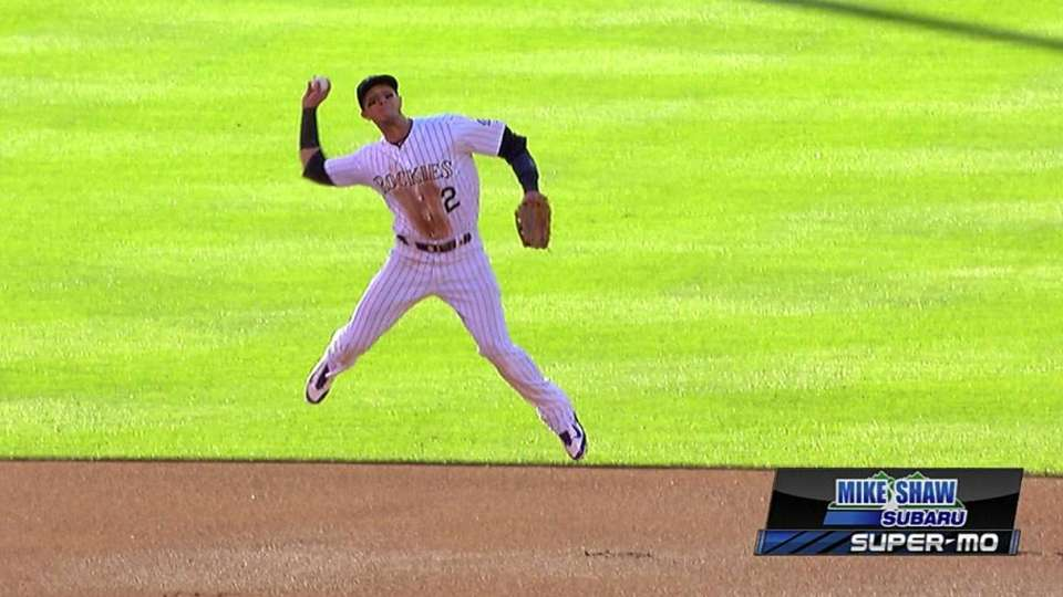Tulo's leaping throw