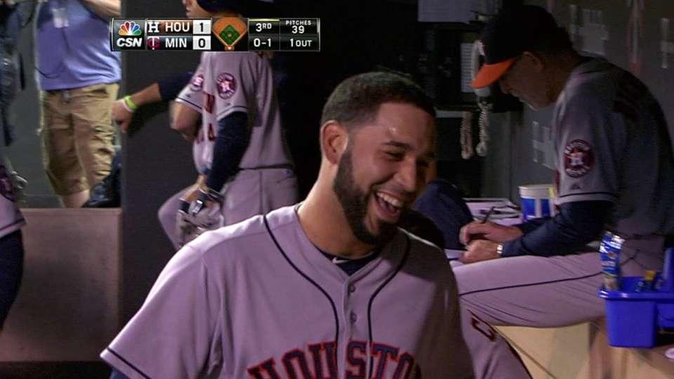 Gonzalez's solo home run