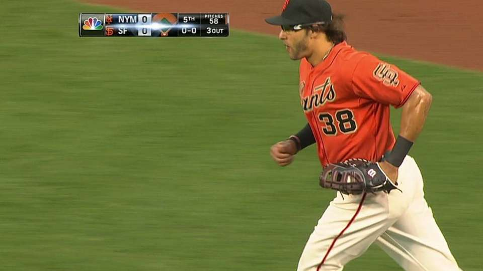 Morse's snags hard-hit grounder